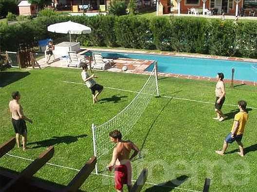 Torneo de Fútbol-Tenis en complejo Kelü