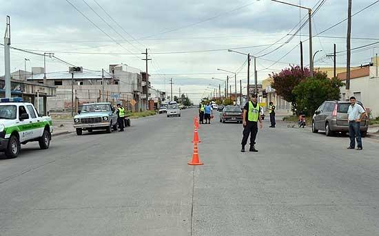 Realizaron más de 30 infracciones en controles de tránsito