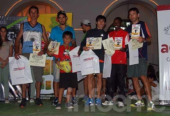 Gustavo Fernández fue tercero en Carlos Casares
