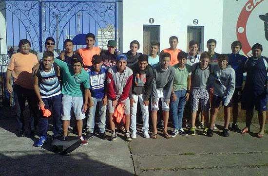 El Fortín y Estudiantes en Mar del Plata