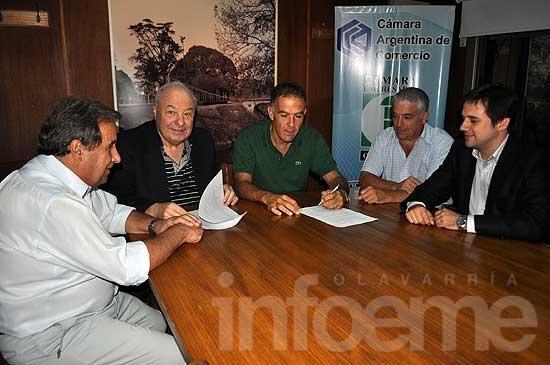 Asociación de Abogados firmó un convenio con la Cámara Empresaria