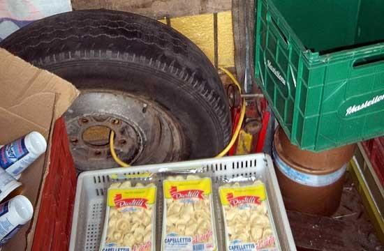 Decomisan 780 kg. de productos no aptos para consumo humano