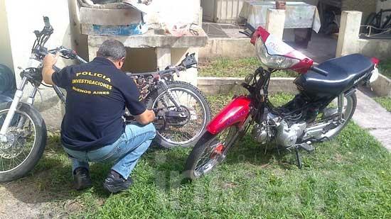 Recuperan motos con pedido de secuestro