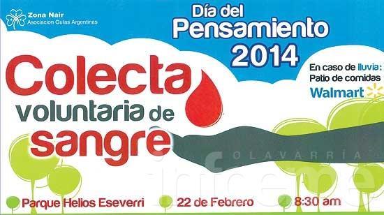 Nueva colecta externa y voluntaria de donación de sangre