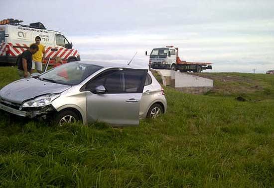 Concejal olavarriense sufrió un accidente en la ruta 3