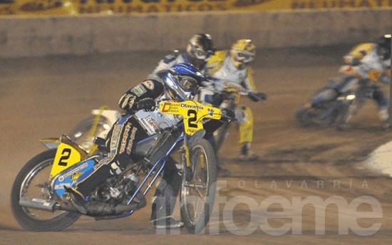 Speedway internacional en El Fortín
