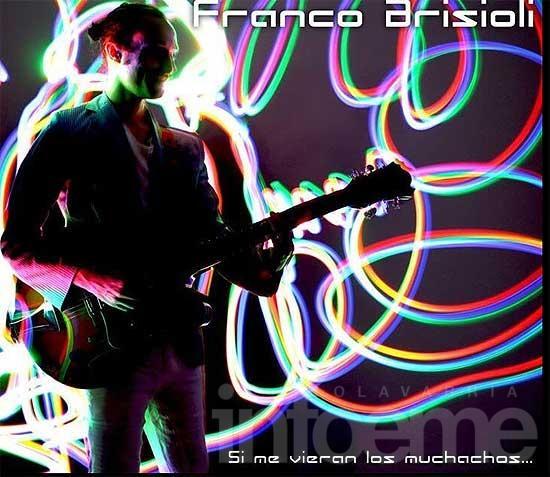 El olavarriense Franco Brisioli lanzó su primer disco