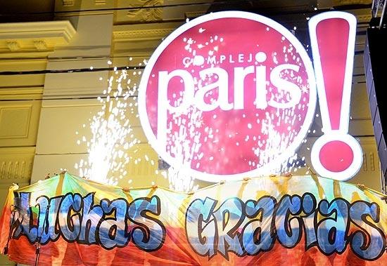 La noche del Complejo Paris también entró en la historia