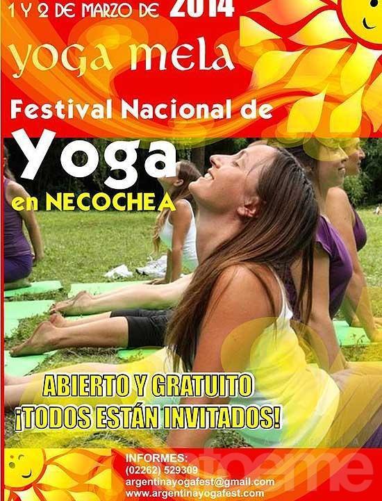 """Delegación local participará del """"Yoga Fest"""""""