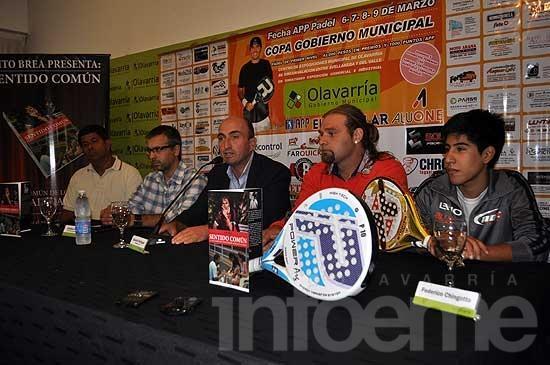 Se presentó el torneo profesional de Pádel