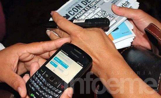 Contribuyentes ya pueden pagar impuestos desde el celular