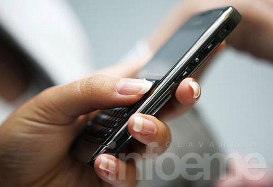 Whatsapp y SMS, la única forma de comunicarse por unas horas