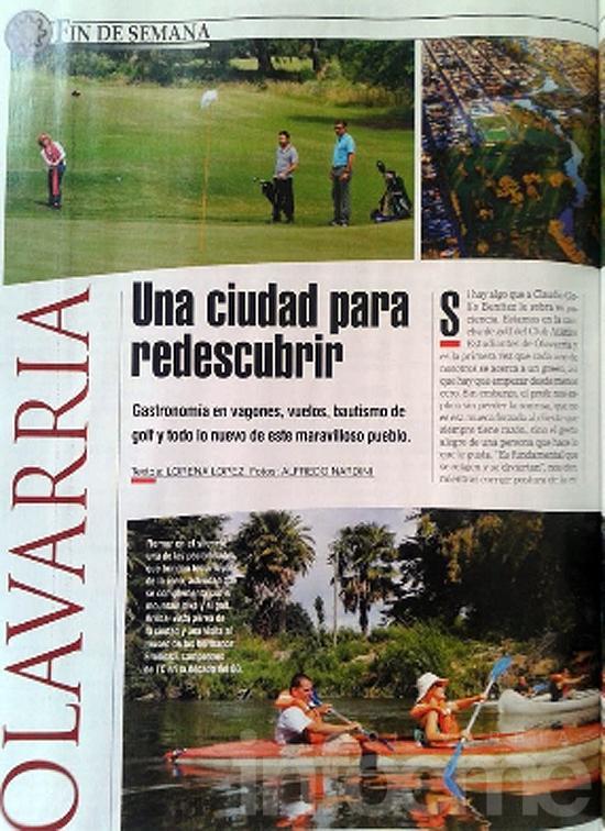 Olavarría y sus atractivos turísticos en la revista Weekend