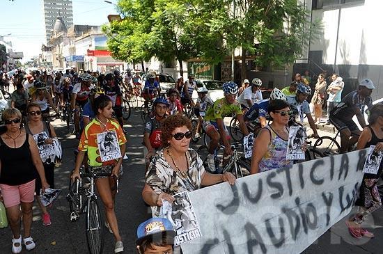 Recordaron a ciclistas fallecidos y pidieron seguridad vial