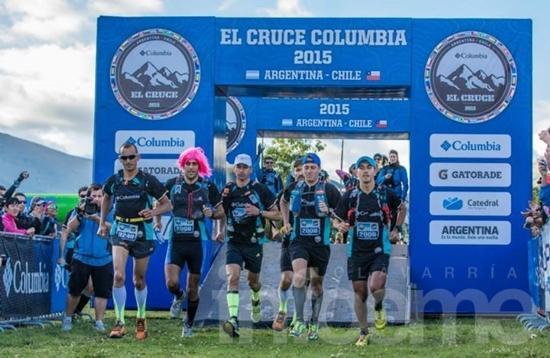 Cruce Columbia: el Lanceros Team llegó tercero