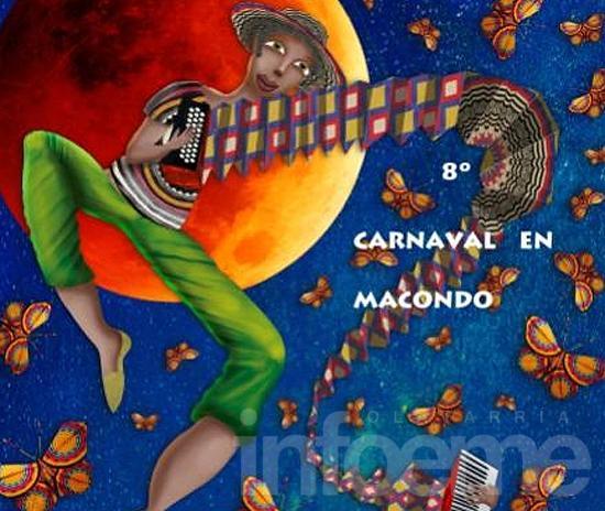 El carnaval de Macondo tiene su color
