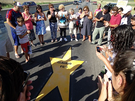 Una Estrella Amarilla por un ciclista atropellado en la ruta