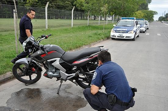 Un menor fue embestido por una moto