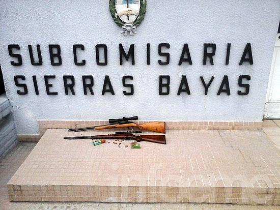 Allanan vivienda en Colonia San Miguel y secuestran armas