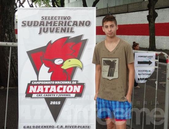 Mariano Sosa arrancó el 2015 en gran forma