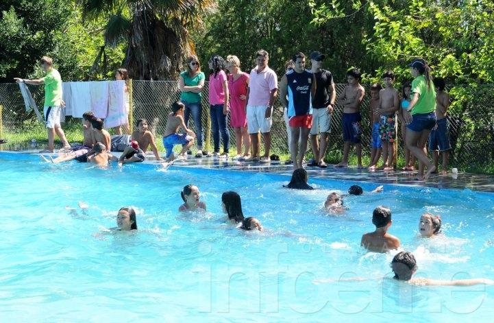 Se realizó el muestreo de cierre de los programas de natación