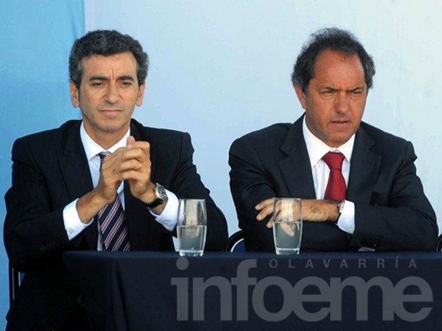 Mariotto quiere que Randazzo sea gobernador de Scioli