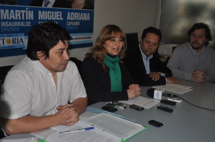 El PJ local defendió las políticas educativas de Cristina y Scioli