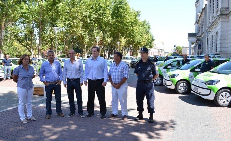 Incorporaron nueve móviles a Protección Ciudadana