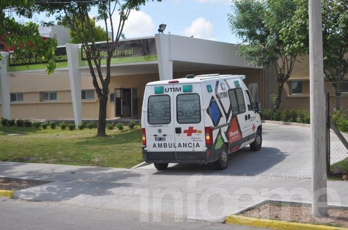Hay tres heridos internados en el Hospital por accidentes de tránsito