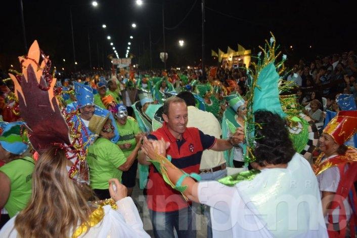 40 mil personas concurrieron al cierre del Carnaval 2015