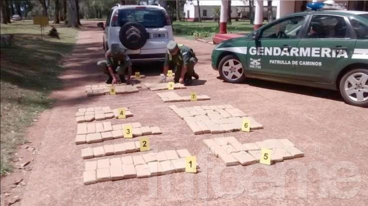 Detienen en Corrientes al olavarriense que tenía 90 kilos de marihuana en Barrio jardín