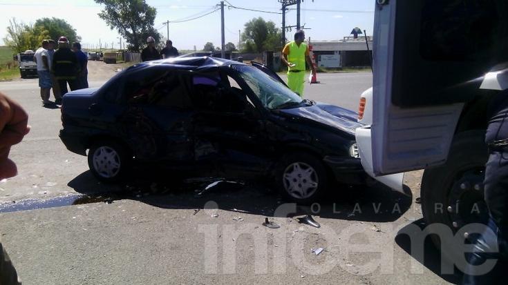 Un muerto y dos heridos en triple choque en Sierras Bayas