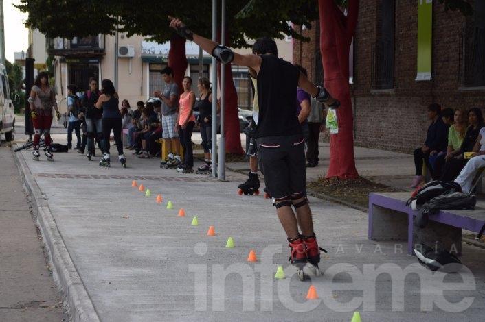 "Arte y deporte detonaron en un ""Sábado Atómico"""