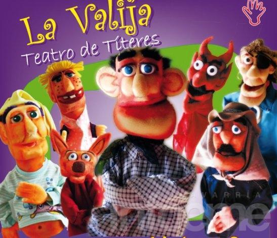 """El teatro de títeres """"La Valija"""" cumple 15 años"""
