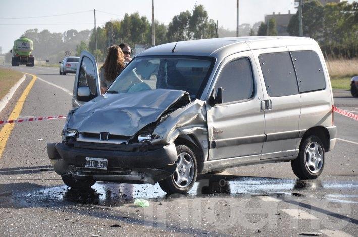 Al menos 40 personas murieron en siniestros viales en el cruce de Sierras Bayas