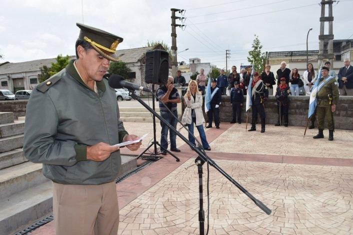 Recordaron a San Martín en el 237º aniversario de su nacimiento