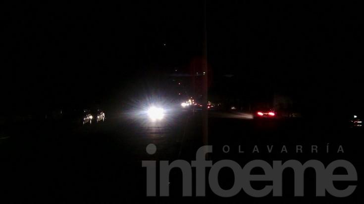 Diversos sectores de la Ciudad afectados por una falla eléctrica