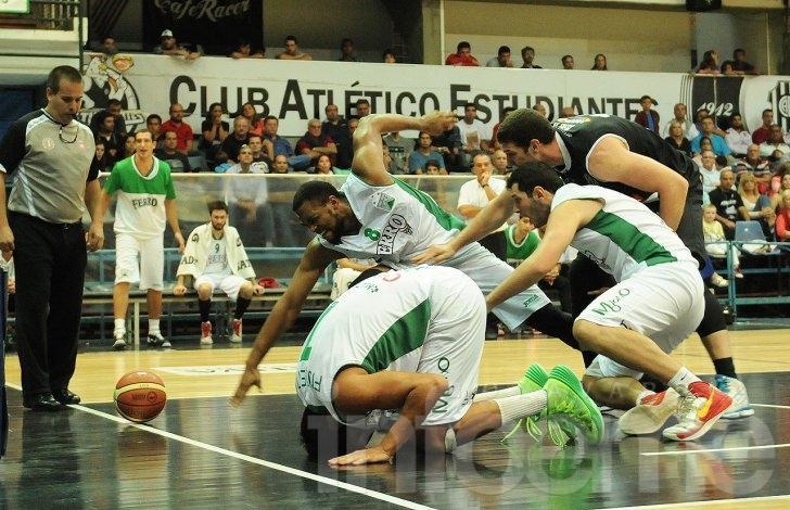 Los mejores momentos del juego entre Estudiantes y Ferro Carril Oeste