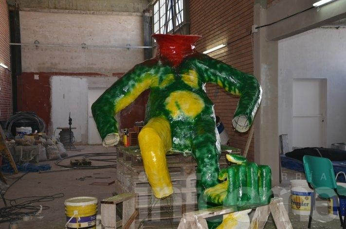 El Momo, homenaje a un personaje mitológico de la selva amazónica