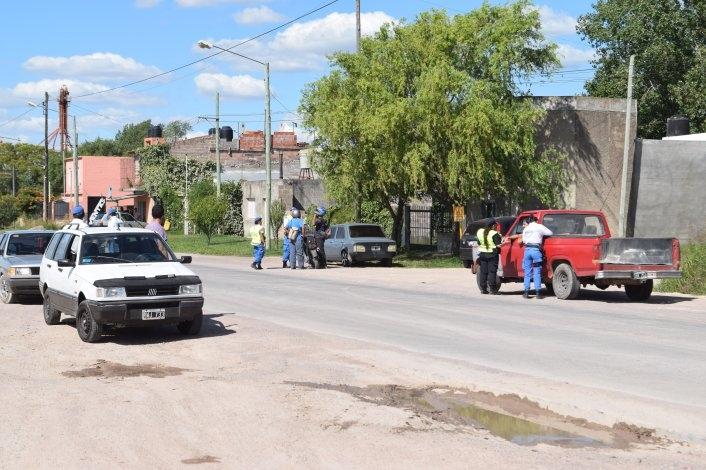 Operativos de tránsito en varios puntos de la Ciudad