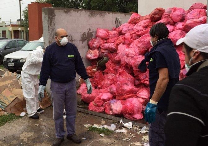 Se regularizó la recolección de residuos patogénicos