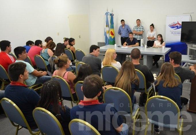 Municipio y centros de estudiantes se reunieron por la TEO