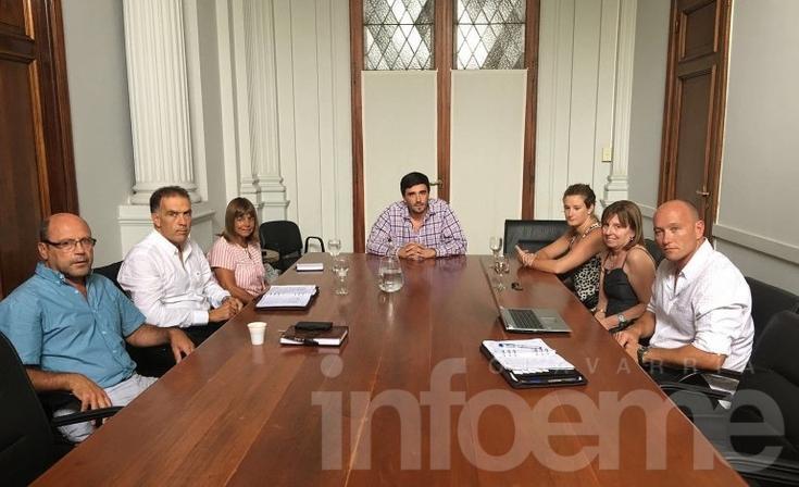 Inseguridad: el intendente Galli se reunió con el cuerpo de fiscales locales