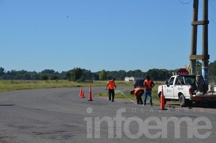 Colocan señalización vial en autopista Fortabat y Ruta 51