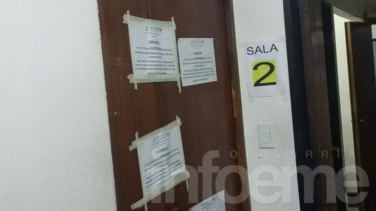 Municipales retiraron a personal de una sala de rayos