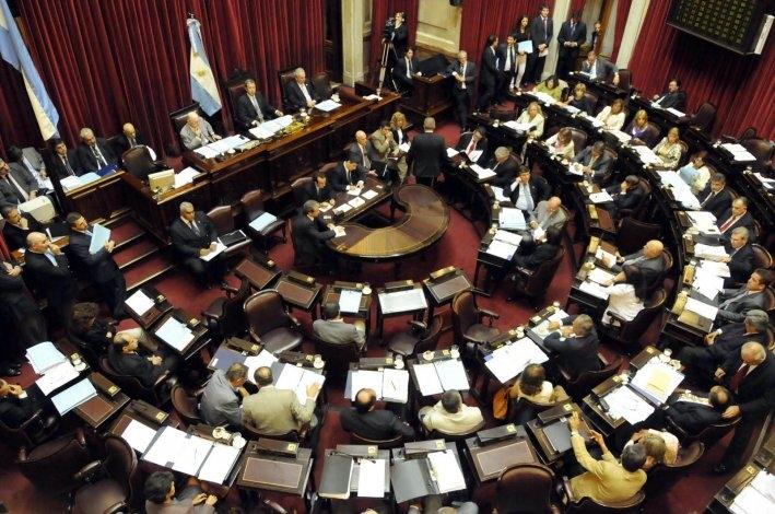 Primera sesión extraordinaria del Senado