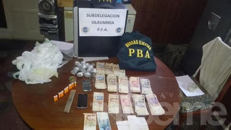 Secuestran cocaína y marihuana en Sierra Chica