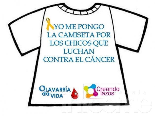 """""""Ponete la camiseta"""" en la lucha contra el cáncer infantil: doná médula ósea"""