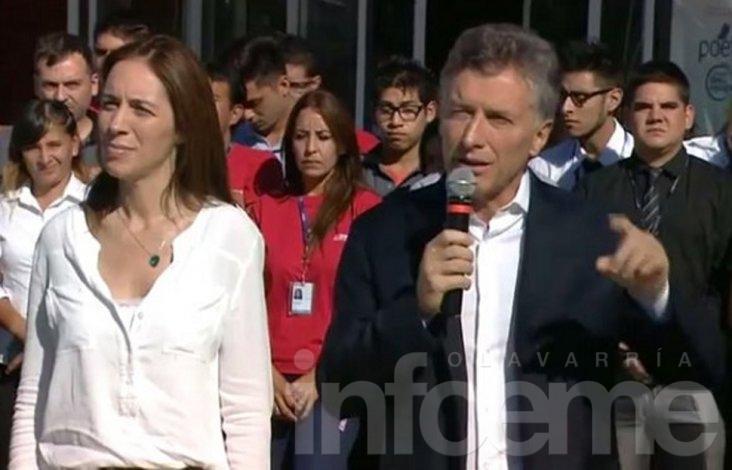 """Macri en reunión """"ampliada"""" del Gabinete de Vidal"""