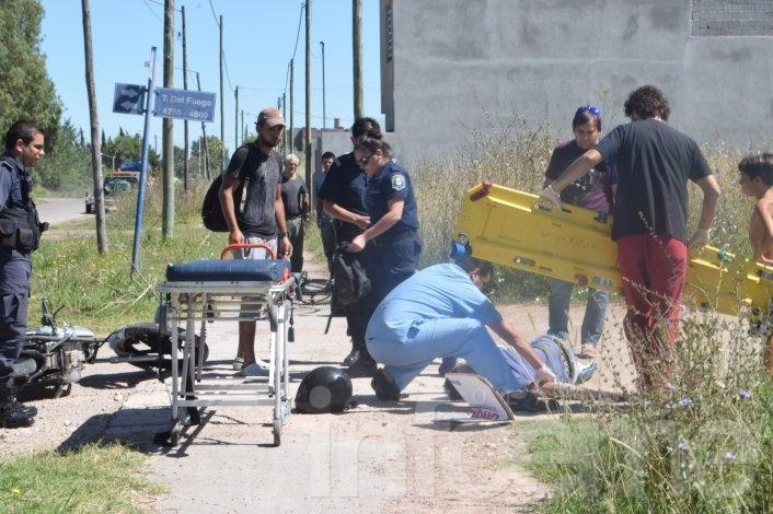 """Un herido en un choque frente a """"La Máxima"""""""